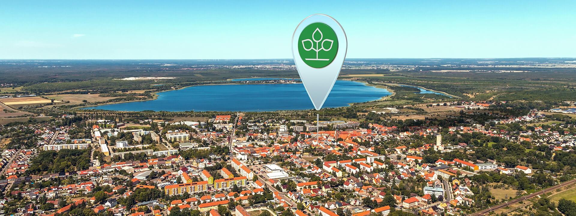 Luftbild von Gräfenhainichen