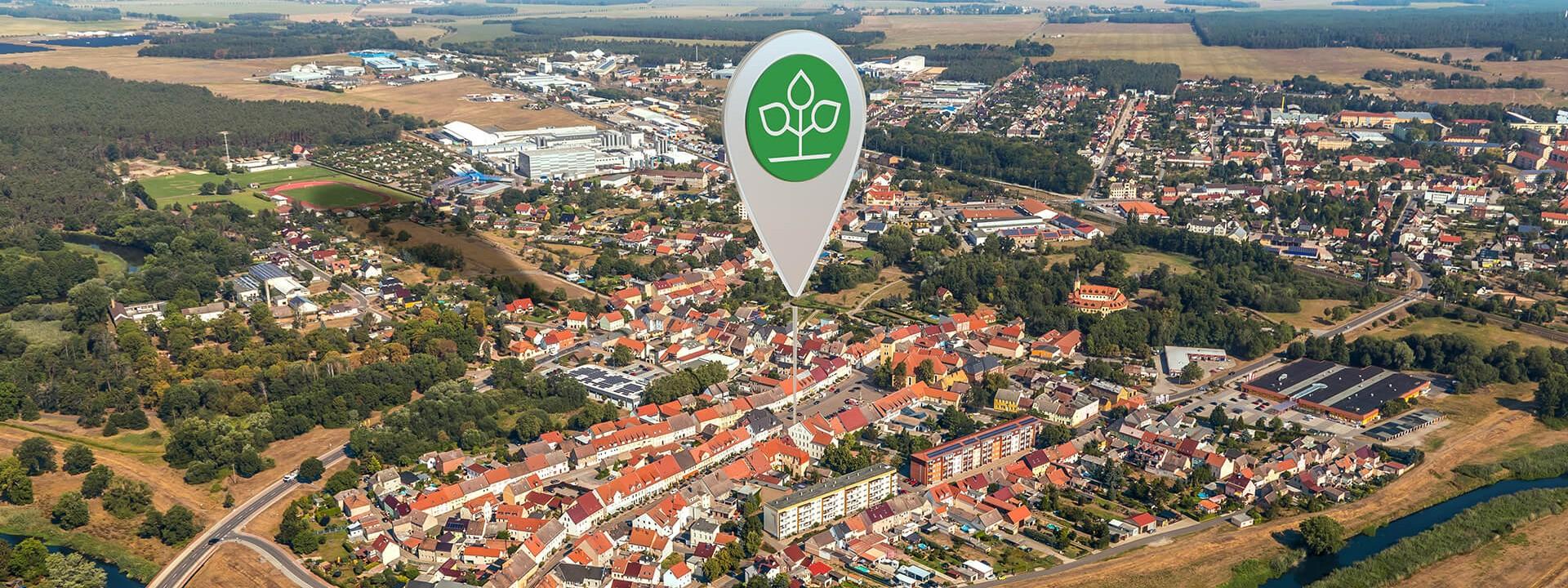 Luftbild von Jessen