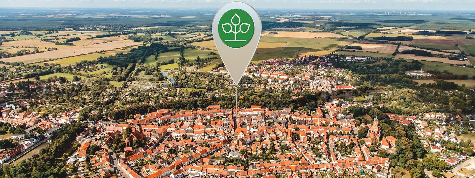Luftbild von Gardelegen