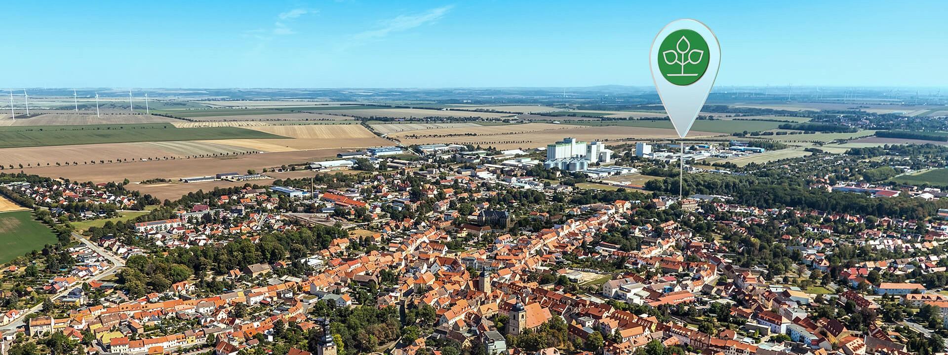 Luftbild von Querfurt