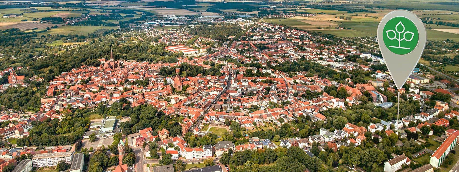 Luftbild von Salzwedel