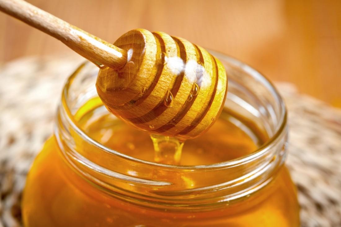 Honig in einem Glas