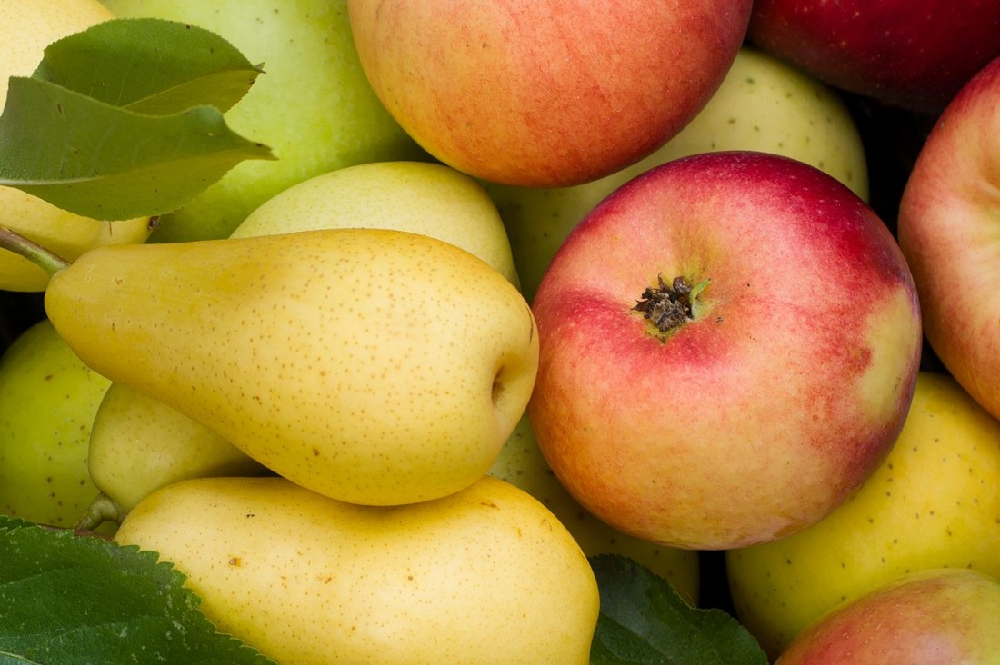 Äpfe und Birnen